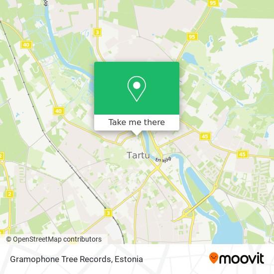 Gramophone Tree Records map