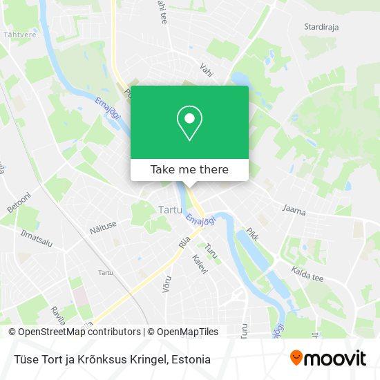 Tüse Tort ja Krõnksus Kringel map