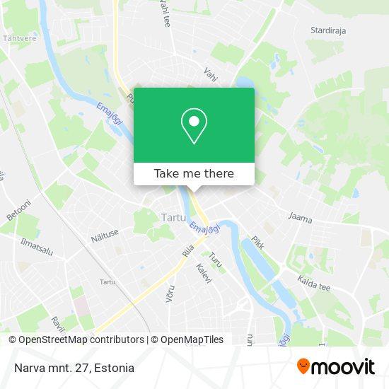 Narva mnt. 27 map
