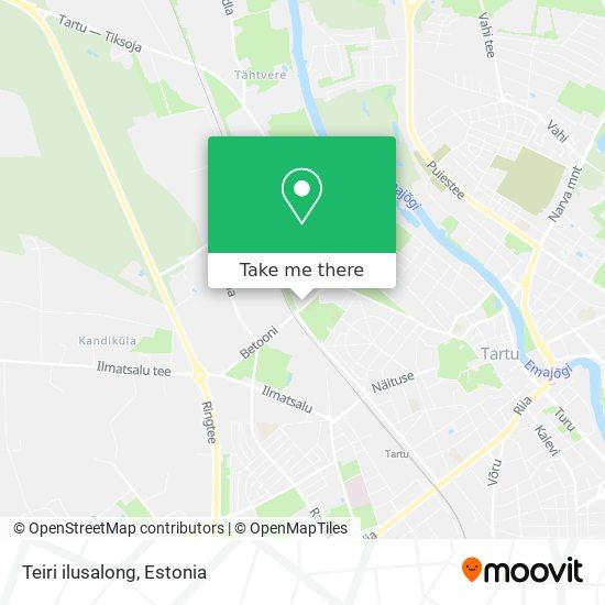 Teiri ilusalong map