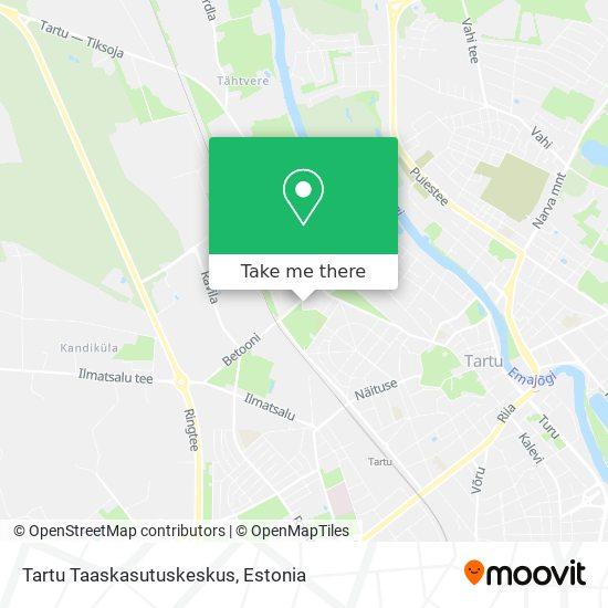 Tartu Taaskasutuskeskus map