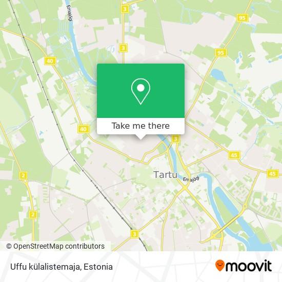 Uffu külalistemaja map