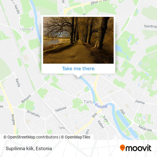 Supilinna kiik map