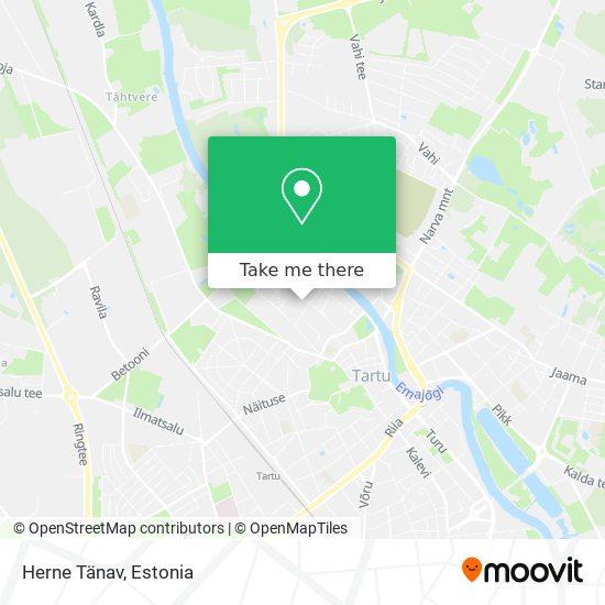 Herne Tänav map