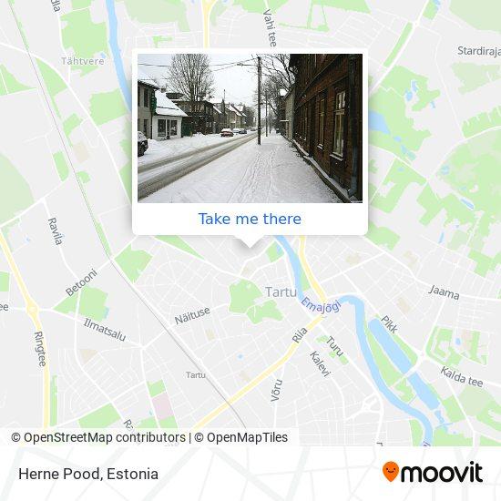 Herne Pood map