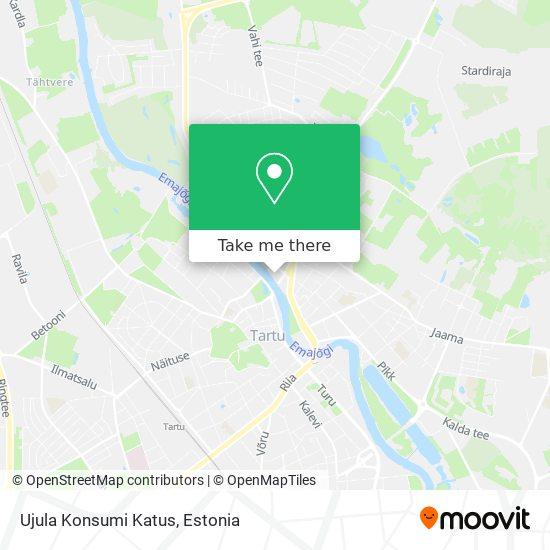Ujula Konsumi Katus map