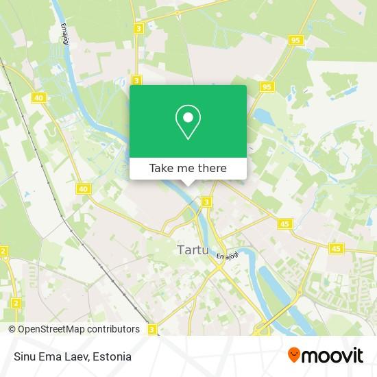 Sinu Ema Laev map