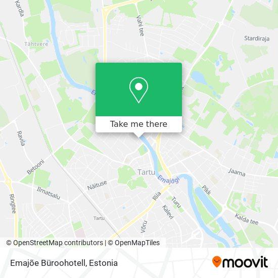 Emajõe Büroohotell map