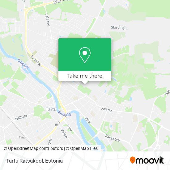 Tartu Ratsakool map