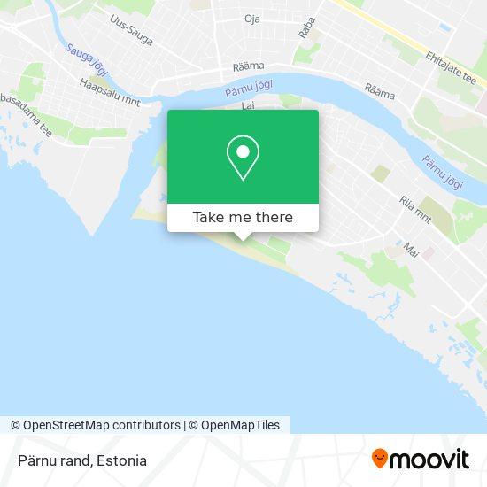 Pärnu rand map