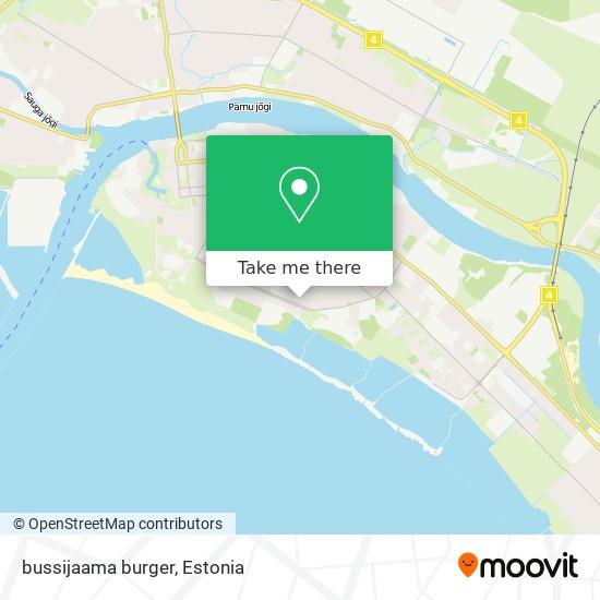 bussijaama burger map