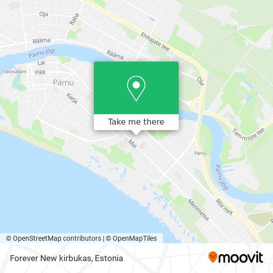 Forever New kirbukas map