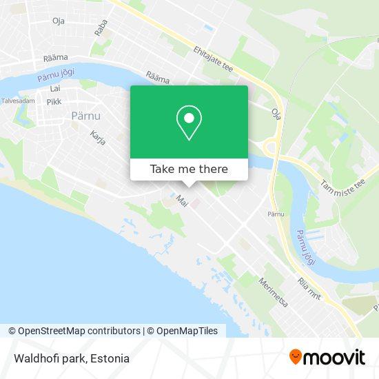 Waldhofi park map