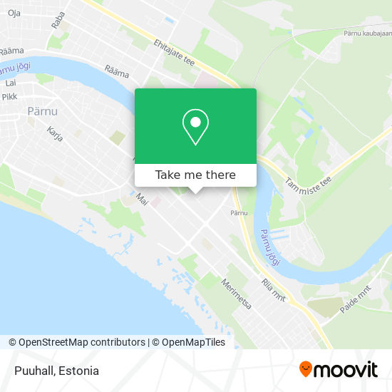 Puuhall map
