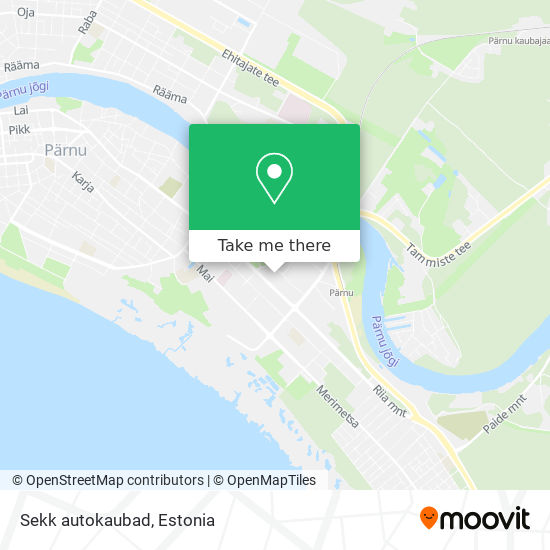 Sekk autokaubad map