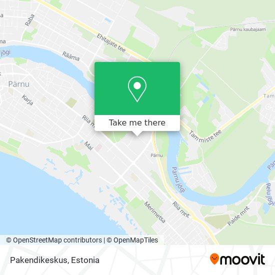 Pakendikeskus map