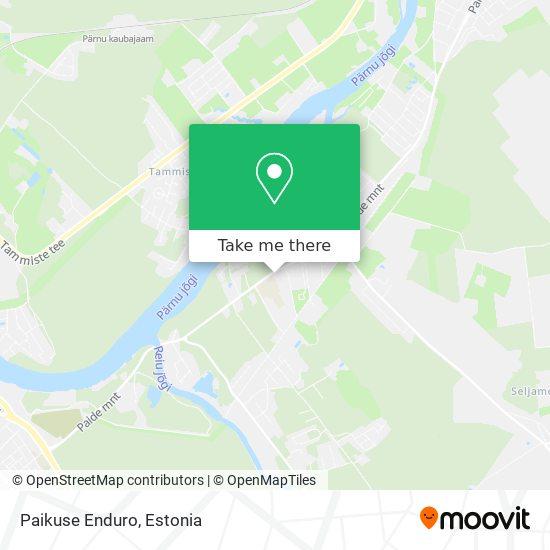 Paikuse Enduro map