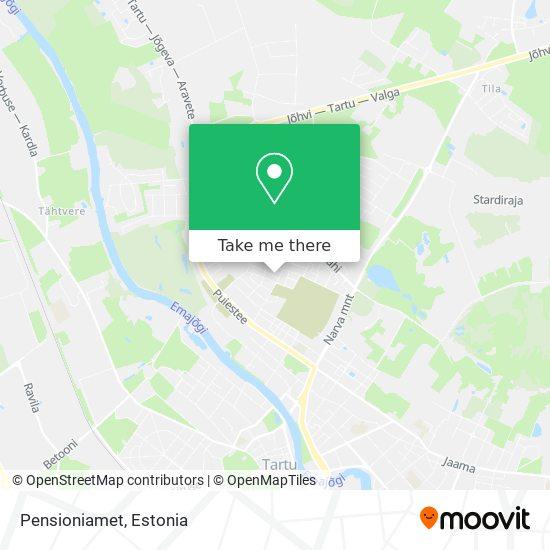 Pensioniamet map