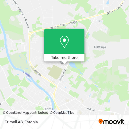 Erimell AS map