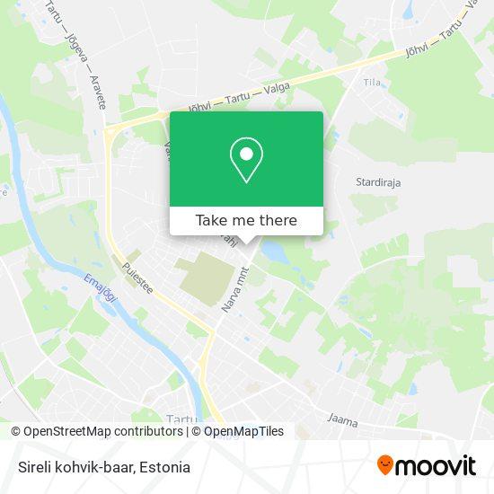 Sireli kohvik-baar map