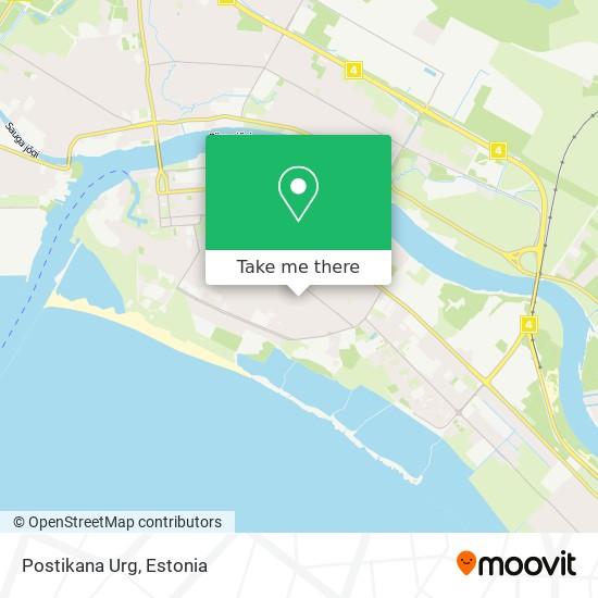 Postikana Urg map