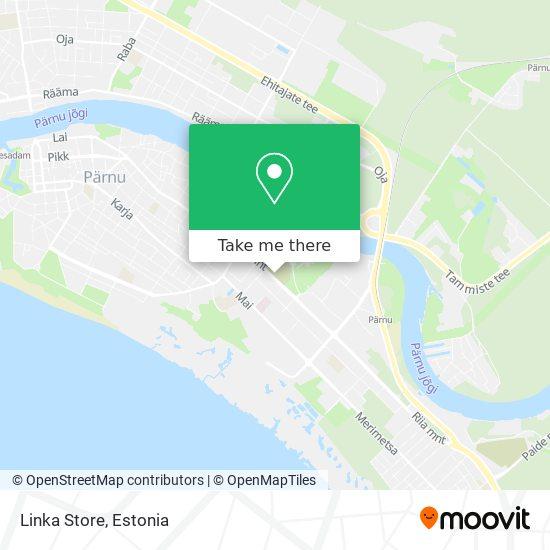 Linka Store map