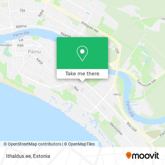 Ithaldus.ee map