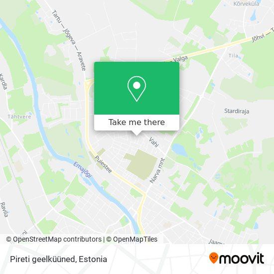 Pireti geelküüned map
