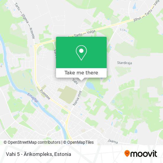 Vahi 5 - Ärikompleks map