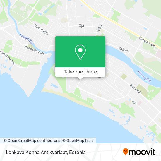 Lonkava Konna Antikvariaat map