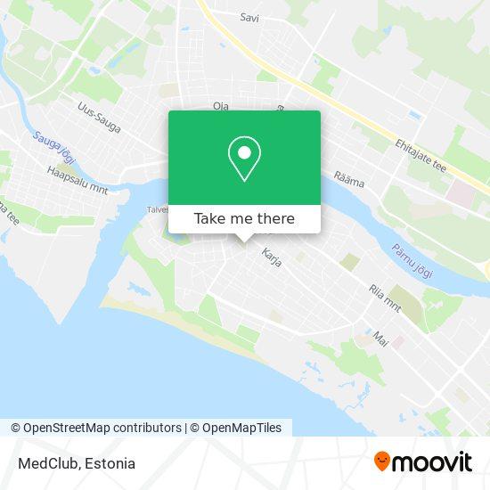MedClub map