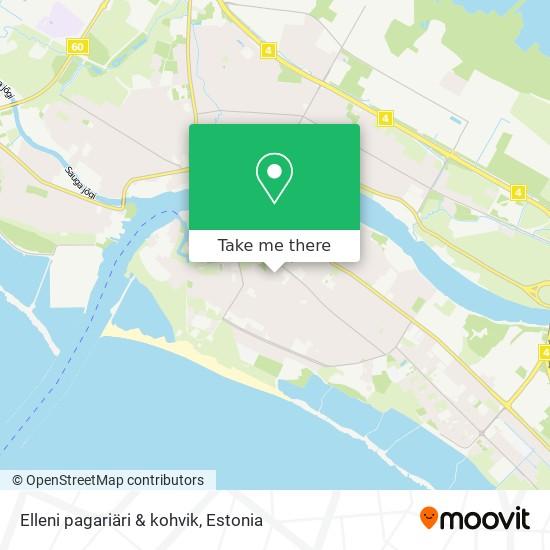 Elleni pagariäri & kohvik map