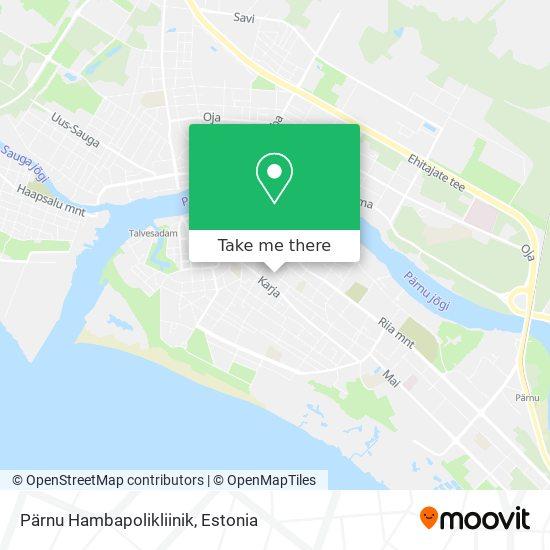 Pärnu Hambapolikliinik map