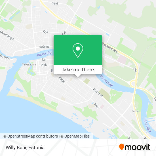 Willy Baar map