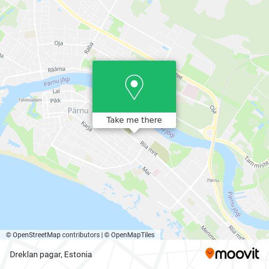 Dreklan pagar map