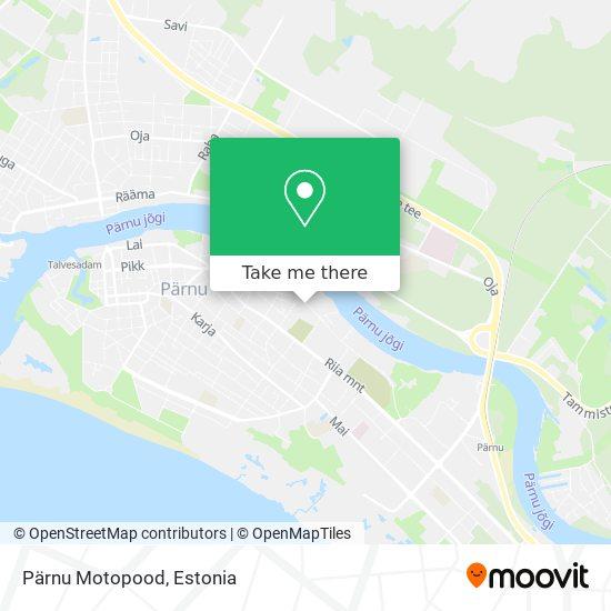 Pärnu Motopood map