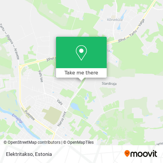 Elektritakso map