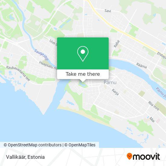 Vallikäär map