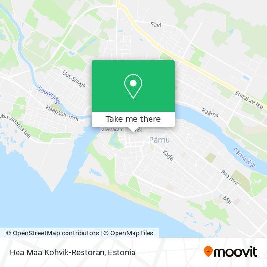 Hea Maa Kohvik-Restoran map