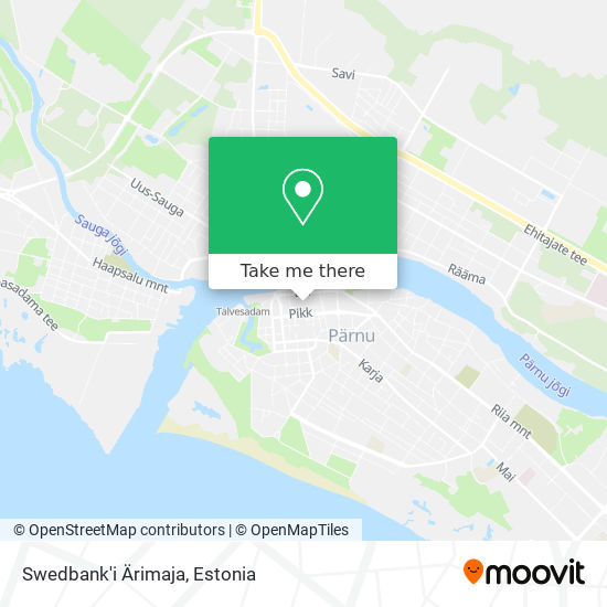 Swedbank'i Ärimaja map