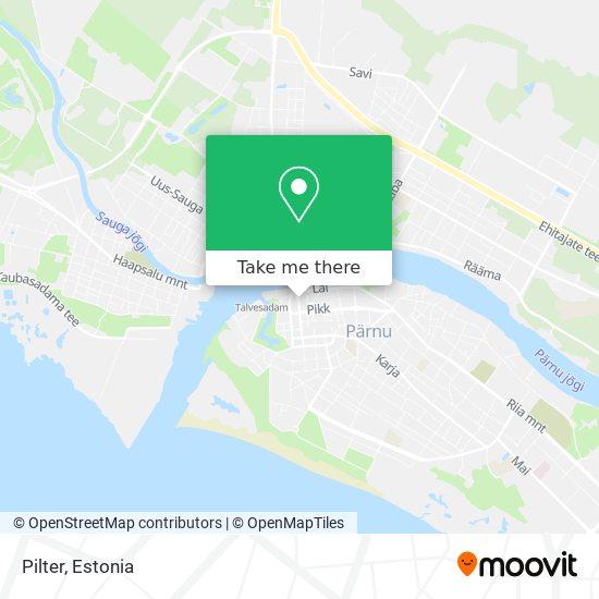 Pilter map