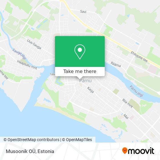 Musoonik OÜ map