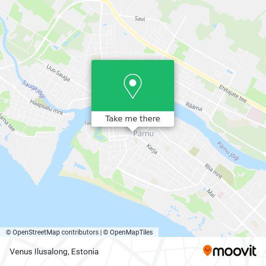 Venus Ilusalong map