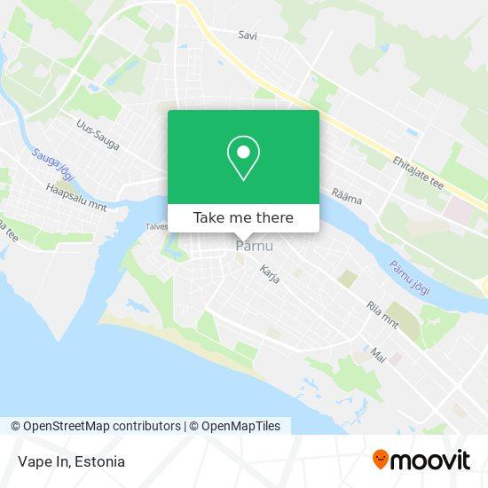 Vape In map