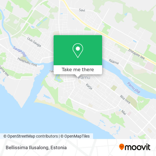 Bellissima Ilusalong map