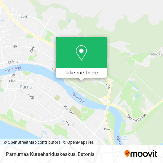 Pärnumaa Kutsehariduskeskus map