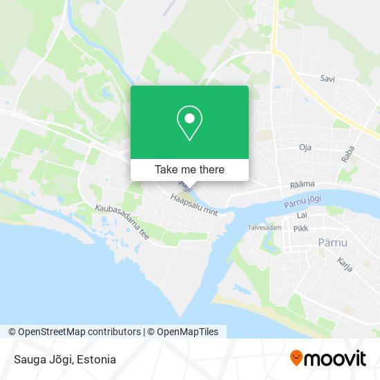 Sauga Jõgi map