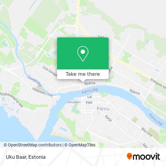 Uku Baar map