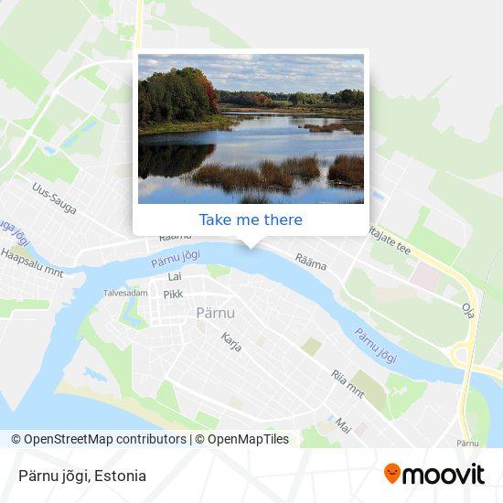 Pärnu jõgi map