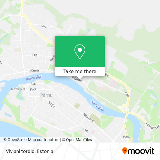 Viviani tordid map